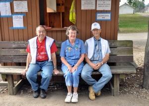 Kendallville Bluegrass festival gate crew