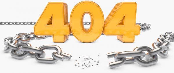 404 broken link